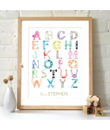Sporting Alphabet - Personalised